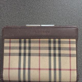バーバリー(BURBERRY)の2つ折り財布(折り財布)