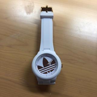 アディダス(adidas)のadidas 腕時計 ホワイト ピンクゴールド(腕時計)