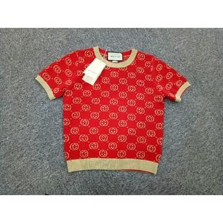 グッチ(Gucci)の新品 グッチGUCCI レディース ニット セーター  半袖 M (ニット/セーター)