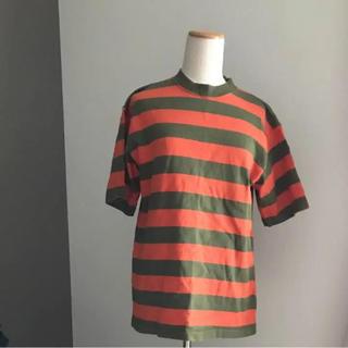 シマムラ(しまむら)の美品★ボーダーTシャツ(Tシャツ(半袖/袖なし))