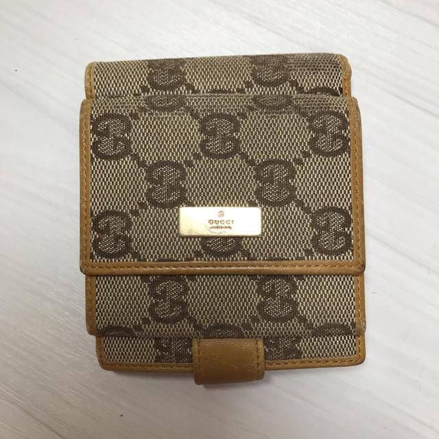 プラダ 財布 韓国 偽物アマゾン - Gucci - GUCCI   二つ折り財布の通販 by 断捨離女's shop|グッチならラクマ