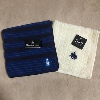 マンシングウェア(Munsingwear)のPOLO & Munsingwear  ポロ&マンシングウェア タオルハンカチ(ハンカチ/ポケットチーフ)
