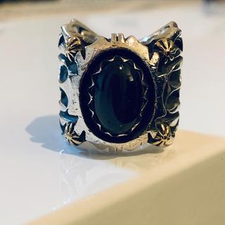 ☆ビッグハンド  ブラックスターリング  希少  美品 (リング(指輪))