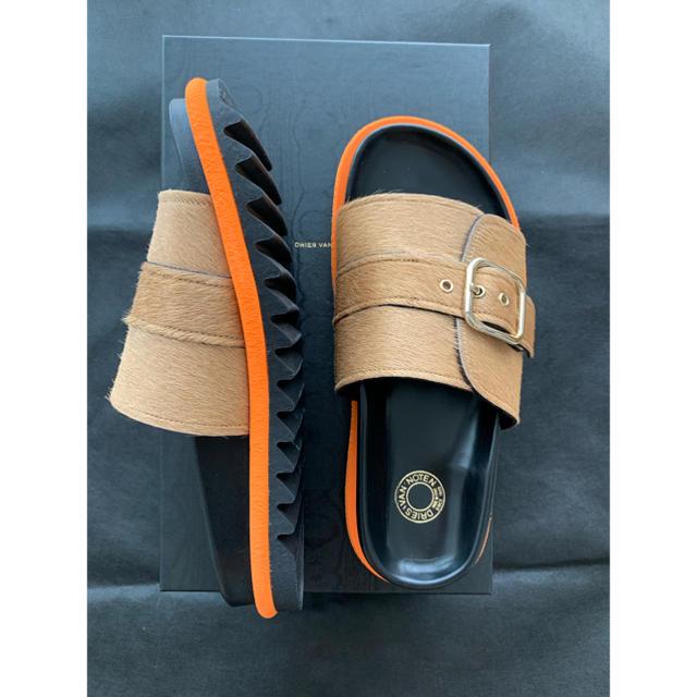 DRIES VAN NOTEN(ドリスヴァンノッテン)のドリスヴァンノッテン ハラコ サンダル レディースの靴/シューズ(サンダル)の商品写真