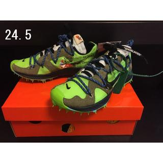 オフホワイト(OFF-WHITE)の【24.5】OFF-WHITE×NIKE ZOOM TERRA KIGER 5(スニーカー)