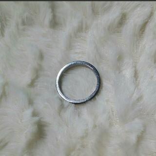 サージカルステンレス 指輪 リング シルバー 15号 316L ステンレス(リング(指輪))