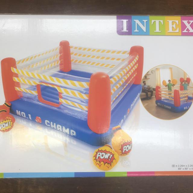 コストコ(コストコ)のINTEX(インテックス)プレイングボクシングリングパンチャー スポーツ/アウトドアのスポーツ/アウトドア その他(その他)の商品写真