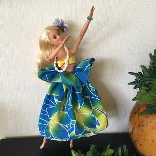 バービー(Barbie)のバービー人形 フラダンス衣装【No.137】(人形)