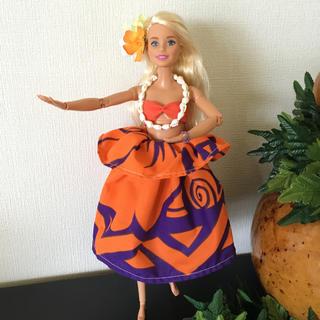 バービー(Barbie)のバービー人形 フラダンス衣装【No.138】(人形)