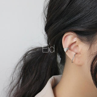 アメリヴィンテージ(Ameri VINTAGE)のWide silver earcuff No.82(イヤーカフ)