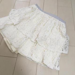 ジーユー(GU)の女の子スカート130(スカート)