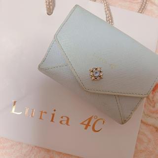 ヨンドシー(4℃)のルリア4℃ ミニ財布 ライトブルー(財布)