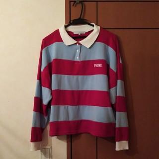 ウィゴー(WEGO)の美品 wego ラガーシャツ レディース ポロシャツ (ポロシャツ)