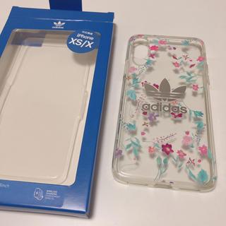 アディダス(adidas)のiPhoneケース  XS/X adidas 使用済み(iPhoneケース)