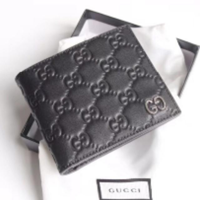 バレンシアガ 財布 偽物 見分け方ファミマ - Gucci - GUCCI 折り財布の通販 by ゆきた's shop|グッチならラクマ