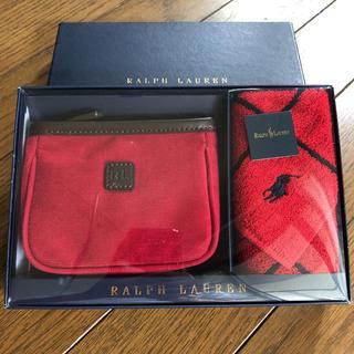 ラルフローレン(Ralph Lauren)の新品 Ralph Lauren ラルフローレン ミニポーチ&ミニタオルセット 箱(ポーチ)