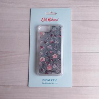 キャスキッドソン(Cath Kidston)の*新品*iPhone6/6S/7/8 ムービンググリッター アルパインディッツィ(iPhoneケース)