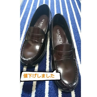ハルタ(HARUTA)のハルタ ヒールローファー(ローファー/革靴)