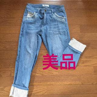 アクシーズファム(axes femme)の【美品】アクシーズファム 可愛いジーンズ(デニム/ジーンズ)