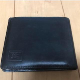 バーバリー(BURBERRY)のお値引き‼️BURRBERRY 財布 ブラック(折り財布)