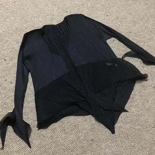 プリーツプリーズイッセイミヤケ(PLEATS PLEASE ISSEY MIYAKE)のジャケット(ノーカラージャケット)
