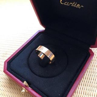 カルティエ(Cartier)のCartier カルティエ     ラブリング K18 ピンクゴールド PG(リング(指輪))