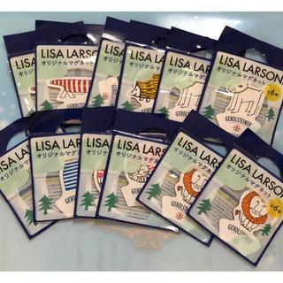 リサラーソン(Lisa Larson)のリサ ラーソン マグネット 12枚セット(ノベルティグッズ)
