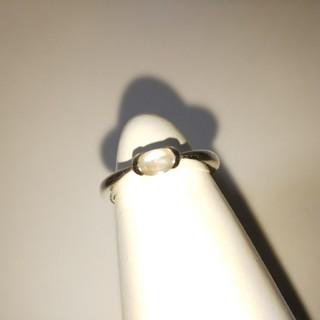オーロラ色楕円形モチーフのシルバーリング(リング(指輪))