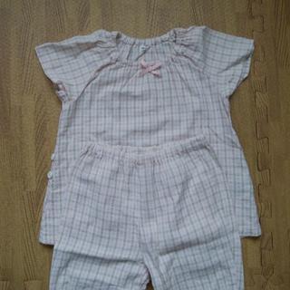 ムジルシリョウヒン(MUJI (無印良品))の無印良品 パジャマ 女の子 90cm(パジャマ)