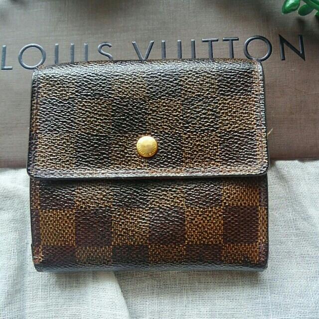LOUIS VUITTON - LOIS VITTON ダミエ ポルト フォイユ エリーズ  Wホック 折り財布の通販 by サッチー's shop|ルイヴィトンならラクマ