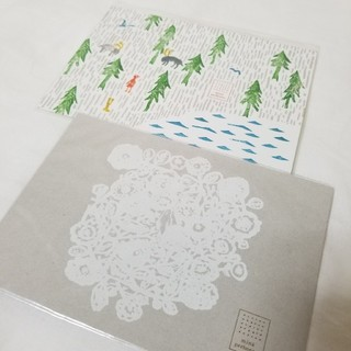 ミナペルホネン(mina perhonen)のミナペルホネン ポストカード(カード/レター/ラッピング)