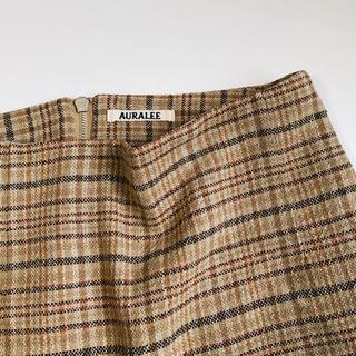 ロンハーマン(Ron Herman)のAURALEE サマーツイード スカート(ひざ丈スカート)