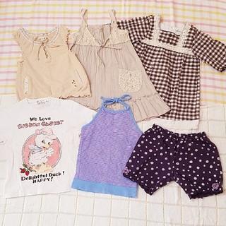 ビケット(Biquette)の女の子 90  6点セット(Tシャツ/カットソー)