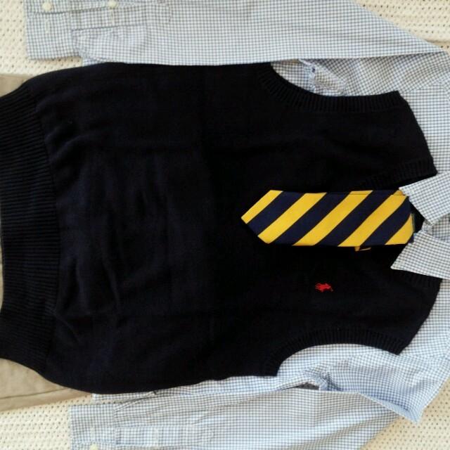 POLO RALPH LAUREN(ポロラルフローレン)のラルフローレン キッズ/ベビー/マタニティのキッズ服 男の子用(90cm~)(ドレス/フォーマル)の商品写真