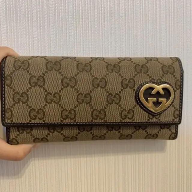 Gucci - GUCCI 長財布の通販 by una's shop|グッチならラクマ
