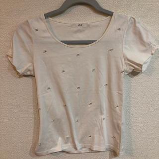 エフデ(ef-de)のビージュ シャツ(Tシャツ(半袖/袖なし))