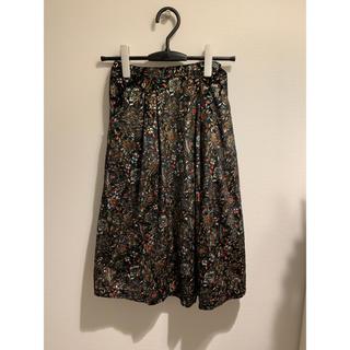 リリーブラウン(Lily Brown)のグリッタープリントスカート Lily Brown リリーブラウン スカート(ひざ丈スカート)