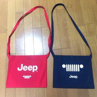 ジープ(Jeep)のJEEP サコッシュ グリーンルーム2019(ショルダーバッグ)