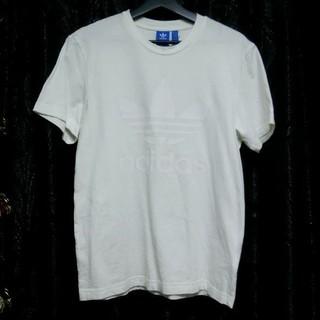 アディダス(adidas)のadidasoriginalsアディダスオリジナルストレフォイルTシャツ白O新品(Tシャツ/カットソー(半袖/袖なし))