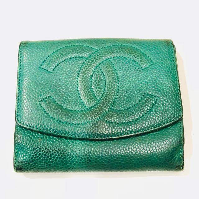 CHANEL - シャネル 二つ折り財布の通販 by どらっぺ's shop|シャネルならラクマ