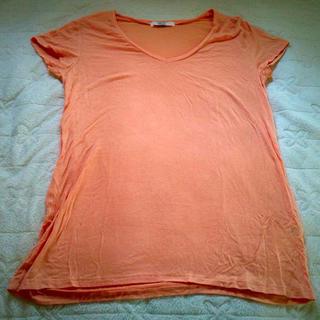 アズールバイマウジー(AZUL by moussy)のAZUL♡オレンジ Tシャツ(Tシャツ(半袖/袖なし))