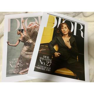 ディオール(Dior)のディオールマガジン Dior No.26/No.27(ファッション)