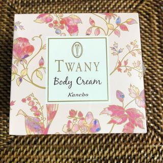 トワニー(TWANY)の【新品未使用】トワニー ボディクリーム フラワーガーデン(ボディクリーム)