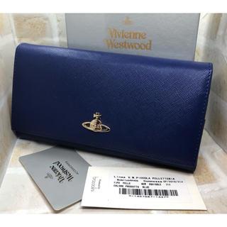 ヴィヴィアンウエストウッド(Vivienne Westwood)のヴィヴィアンウエストウッド 長財布 ブルー 新品未使用(財布)
