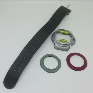 ベビージー(Baby-G)のCASIO Baby-G BG-30 純正 バンド、ベゼル、針金プロテクター(腕時計)