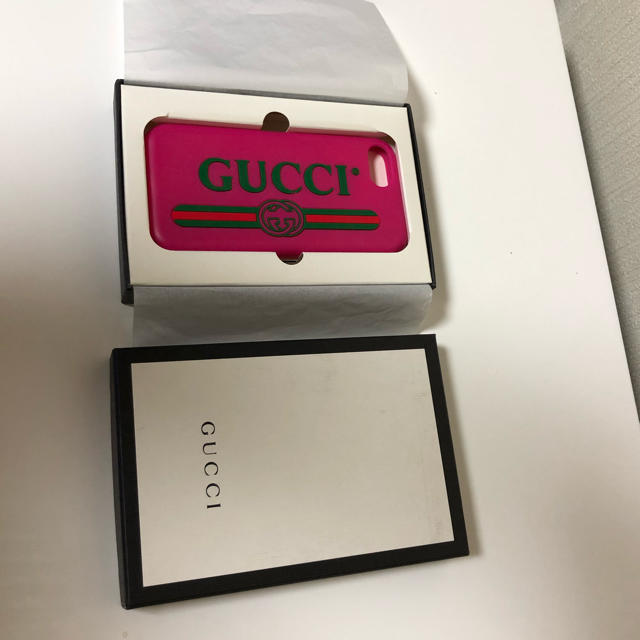 Gucci - GUCCI iPhone7、8ケースの通販