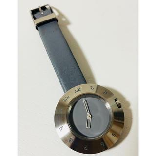 ムジルシリョウヒン(MUJI (無印良品))の【電池新品の美品】無印良品 MUJIのレディース腕時計!グレーカラー☆(腕時計)