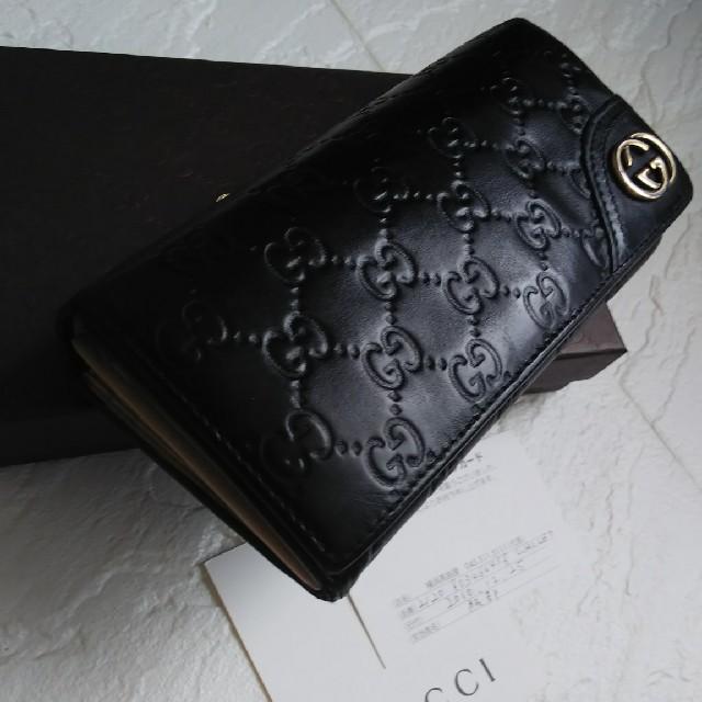 Gucci - GUCCIグッチ長財布の通販 by giジョ-'s shop|グッチならラクマ