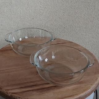 耐熱ガラス 食器 器 グラタン皿 2個セット (食器)