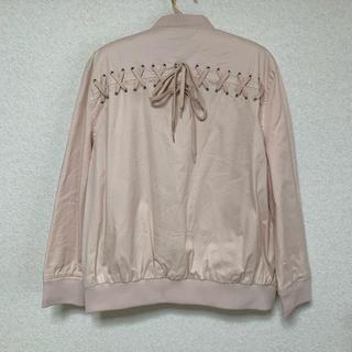 ウィゴー(WEGO)の編み上げ ジャケット 韓国ファッション オルチャン 原宿系 ストリート ゆめかわ(ブルゾン)